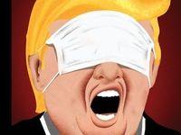 ترامپ و کرونا؛ تصویر شماره جدید مجله نیویورکر