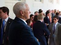 مایک پنس تصمیم ترامپ را به کنگره آمریکا منتقل کرد