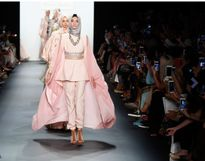 کالکشن حجاب در هفته مد نیویورک+ عکس