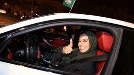 رانندگی زنان عربستانی رسما آزاد شد +فیلم