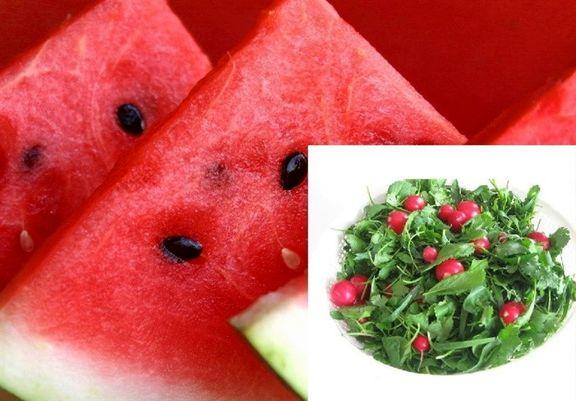 هندوانه و سبزی به بهانه ماه رمضان گران شد