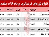 سفر به قطر چقدر آب میخورد؟