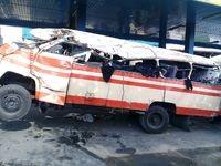 واژگونی مینیبوس در تهران بیش از 20مصدوم داشت