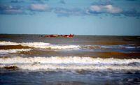 دریای خزر مواج میشود