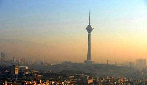 هوای تهران امروز برای گروههای حساس، ناسالم است