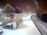 تصاویری از بارش برف در استرالیا +فیلم