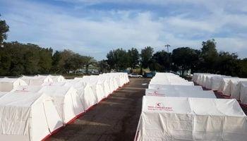 اردوگاههای اسکان اضطراری سیلزدگان خوزستان جمعآوری شد
