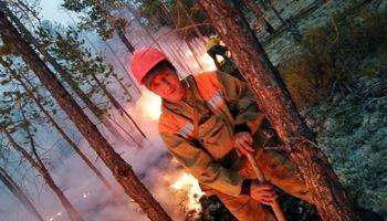 سیبری آتش گرفت! +عکس