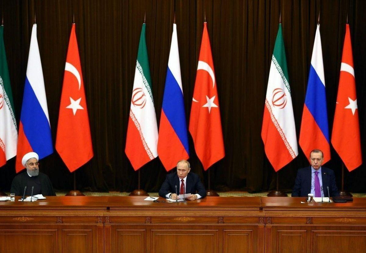 گفتوگوی ویدئوکنفرانسی تهران، مسکو و آنکارا