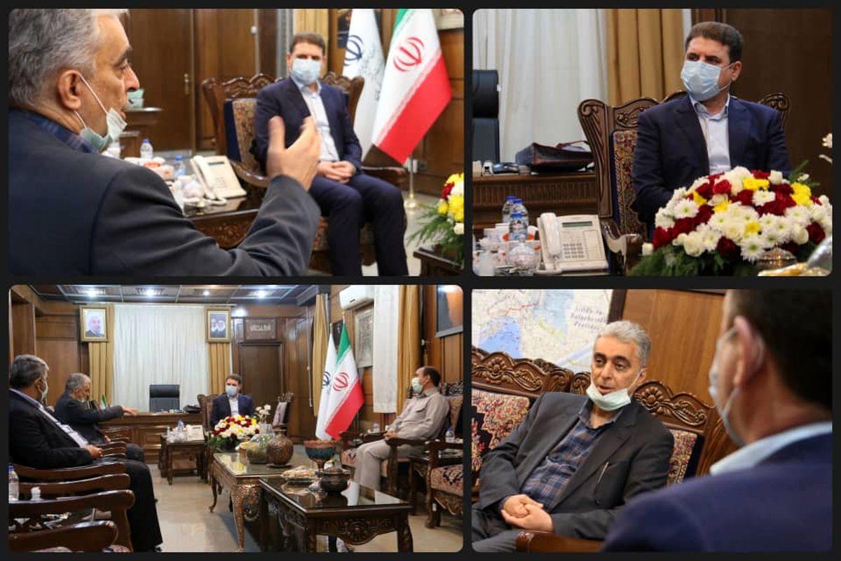دیدار مدیرعامل شرکت ملی صنایع مس ایران با استاندار کرمان
