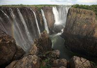 مرگ آبشار ویکتوریا +عکس