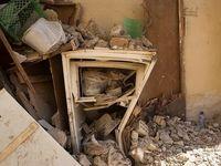 انفجار گاز در منطقه عامری اهواز +عکس
