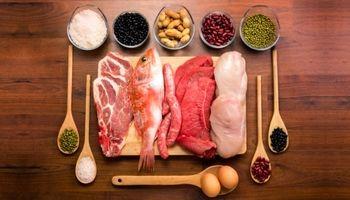 به جز گوشت قرمز چه خوراکیهایی پروتئین دارند؟