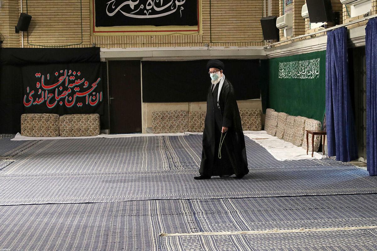اولین شب مراسم عزاداری در حسینیه امام خمینی (ره)
