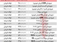 قیمت خودرو هیوندای در بازار تهران +جدول