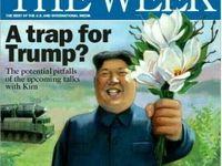 دامی برای ترامپ، طرح جلد هفتهنامه The WEEk