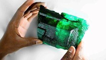کشف سنگ زمرد ۵۶۵۵قیراطی +عکس