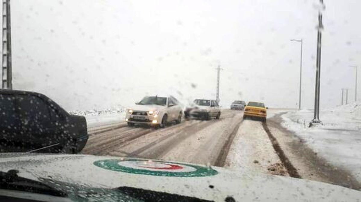 کدام استانها درگیر برف و کولاک و آبگرفتگی بودند؟