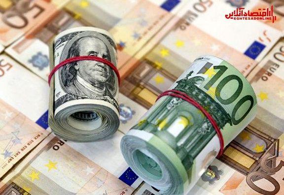 نرخ رسمی یورو گران و پوند ارزان شد