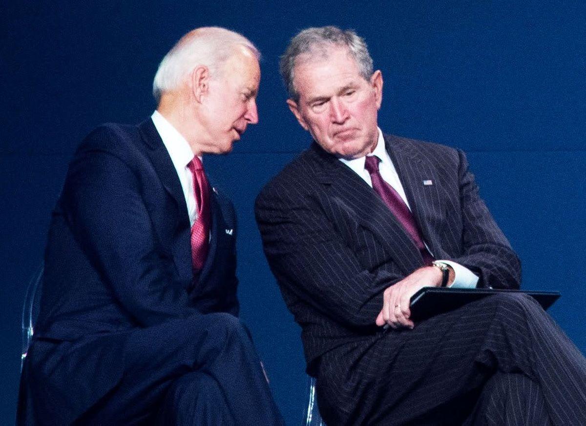 حمایت جورج بوش از بایدن نتیجه انتخابات را تغییر میدهد؟