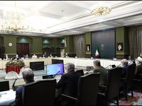 جلسه ستاد ملی مقابله با کرونا با حضور روحانی برگزار شد