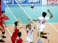 نوجوانان والیبالیست ایران از چین شکست خوردند