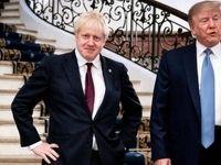 ترامپ: جانسون و فاراژ باید در انتخابات با هم متحد شوند