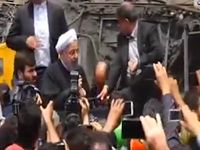 سخنان رییسجمهور در محل حادثه معدن آزادشهر +فیلم