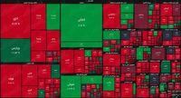 نقشه بازار سهام بر اساس ارزش معاملات/ دارا دوم کار دست بورس داد