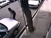 سرقت کامپیوتر خودرو کمتر از ۳۰ ثانیه! +فیلم