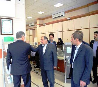 بازدید مدیرعامل بانک کشاورزی از برخی شعب مدیریت تهران بزرگ