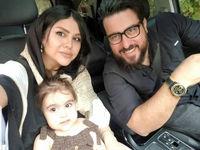 تولد دختر محسن کیایی + عکس