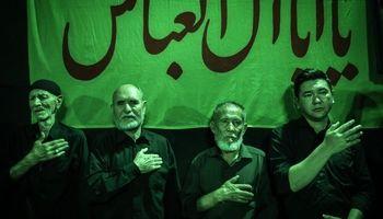 عزاداری افغانستانیهای مقیم تهران +تصاویر