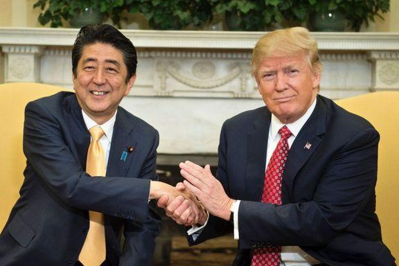 ژاپن ترامپ را نامزد جایزه صلح نوبل کرد