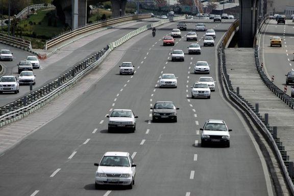 علت ترافیک در محدوده بهشت زهرا