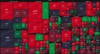 نقشه بازار سهام بر اساس ارزش معاملات/ بورس کاسه چه کنم دست گرفت