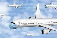 درآمد بخش هوایی کشور ۵۰درصد کاهش یافت