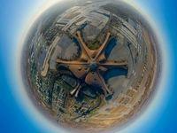 تصویر360درجه از بزرگترین فرودگاه جهان