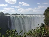 استخر شنای شیطان در زیمباوه +تصاویر