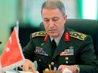 انتشار تصویری که وزیر دفاع ترکیه را عصبانی کرد +عکس