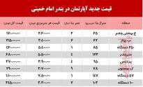 قیمت آپارتمان در بندر امام خمینی چند؟ +جدول
