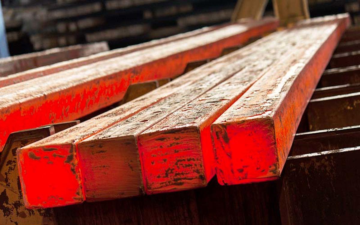 صادرات بیش از ۳میلیون تن انواع شمش فولادی