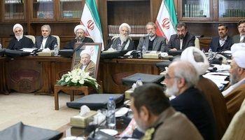 اولین جلسه مجمع پس از رحلت آیتالله هاشمی رفسنجانی +عکس