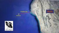 محل دقیق سقوط پهپاد جاسوسی آمریکا در دریای عمان