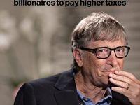 تشویق بیل گیتس برای پرداخت مالیات بیشتر