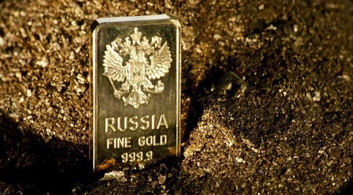 ذخایر طلای روسیه به دوران استالین رسید