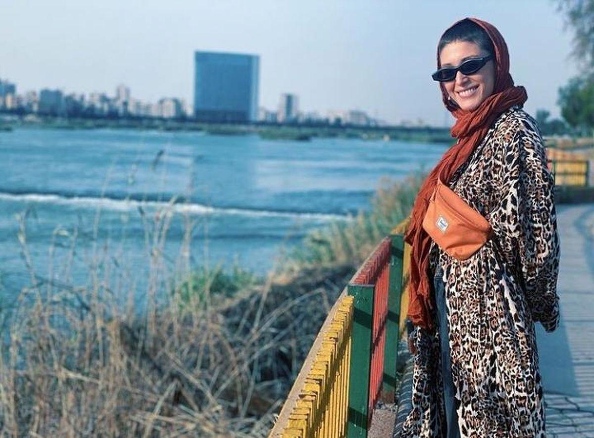 شباهت زیاد فرشته حسینی با خواهرش! + عکس