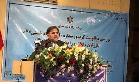آخوندی: کریدور شماره ١٠ حوزه تمدن ایرانشهری است