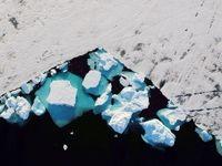 قطب شمال چگونه ذوب میشود؟