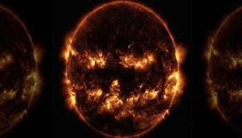 ناسا تصویری ترسناک از خورشید منتشر کرد! +عکس